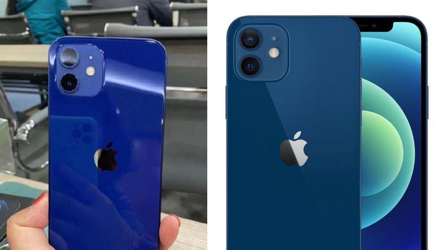 Dân mạng tranh cãi vì màu xanh dương của iPhone 12