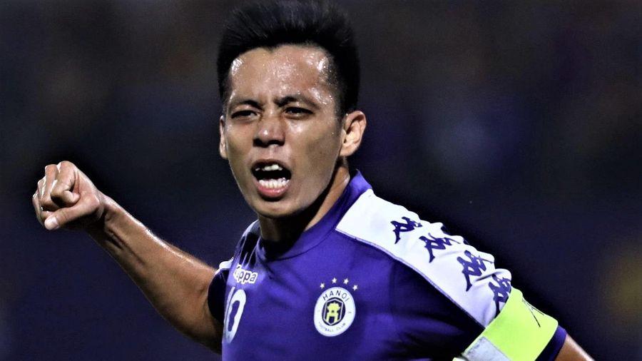 Highlights CLB Hà Nội 1-0 Hà Tĩnh: Văn Quyết lập công