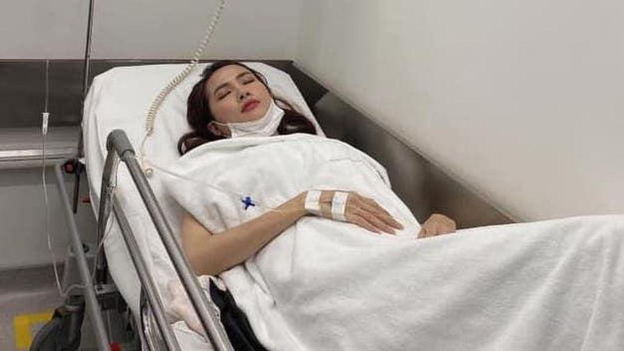 Phan Thị Mơ nhập viện cấp cứu vì sốt cao, co giật
