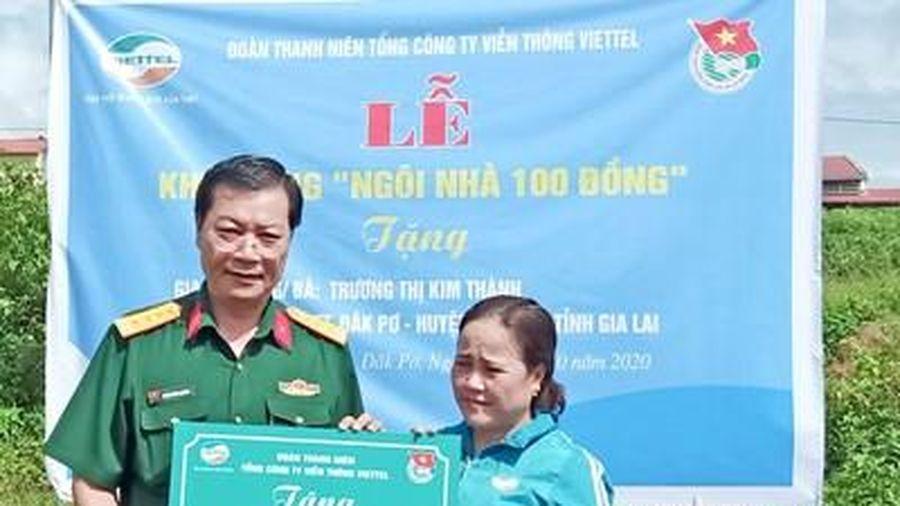Viettel Gia Lai khởi công xây dựng 'Ngôi nhà 100 đồng'