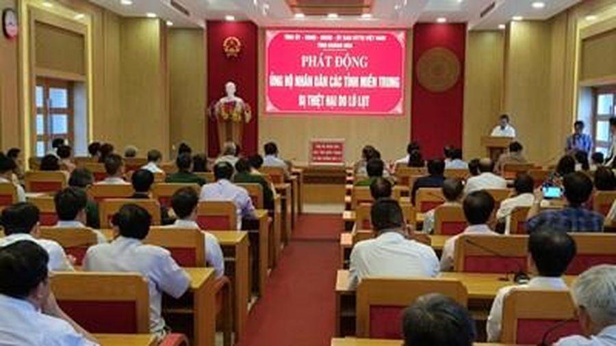 Khánh Hòa, phát động ủng hộ đồng bào miền Trung bị lũ lụt