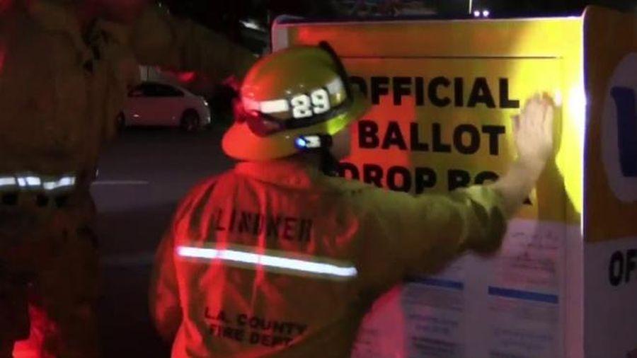 Bầu cử Mỹ 2020: Hòm thư bị phóng hỏa, nhiều phiếu bầu bị tiêu hủy