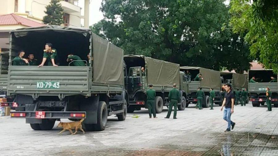 Nghệ An cử đoàn vào Quảng Trị đón các chiến sĩ Đoàn 337 hy sinh