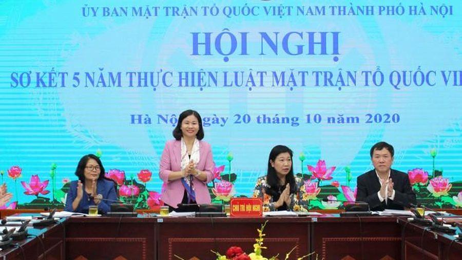 Phó Bí thư Hà Nội Nguyễn Thị Tuyến: MTTQ phải làm tốt hơn giám sát, phản biện xã hội