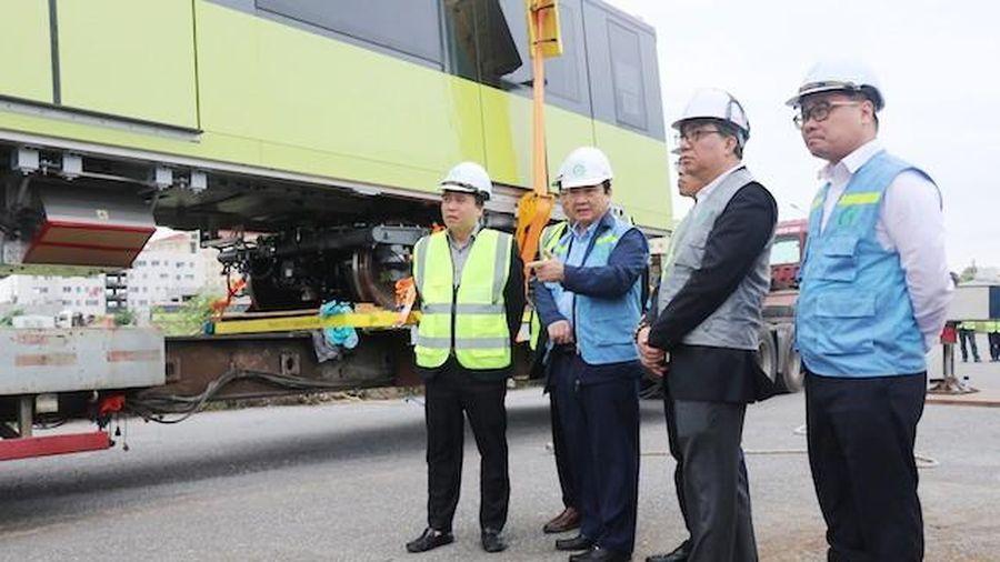 Yêu cầu đưa tuyến đường sắt đô thị Hà Nội vào hoạt động trong năm 2021
