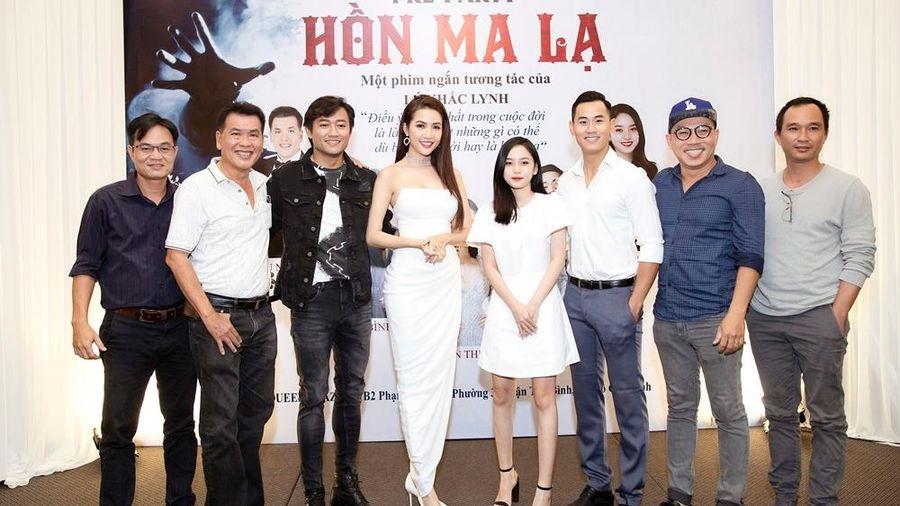 Phan Thị Mơ, Quý Bình và mối tình tay ba cùng Tiến Hoàng trong 'Hồn ma lạ'