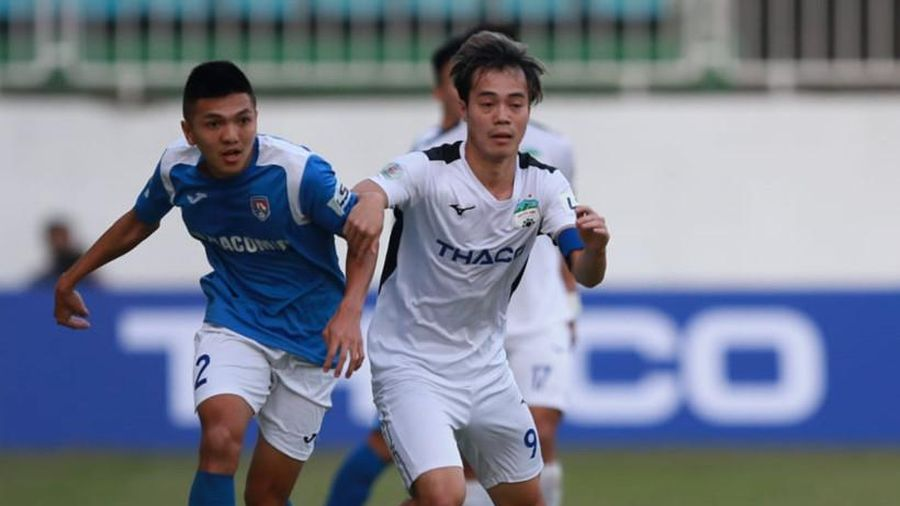 Trực tiếp Quảng Ninh 0-0 HAGL: Quyết đấu vì danh dự (H1)