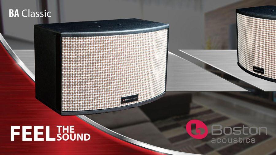 Boston Acoustics – Thương hiệu Mỹ thuộc tập đoàn Sound United chính thức tham gia thị trường karaoke cao cấp
