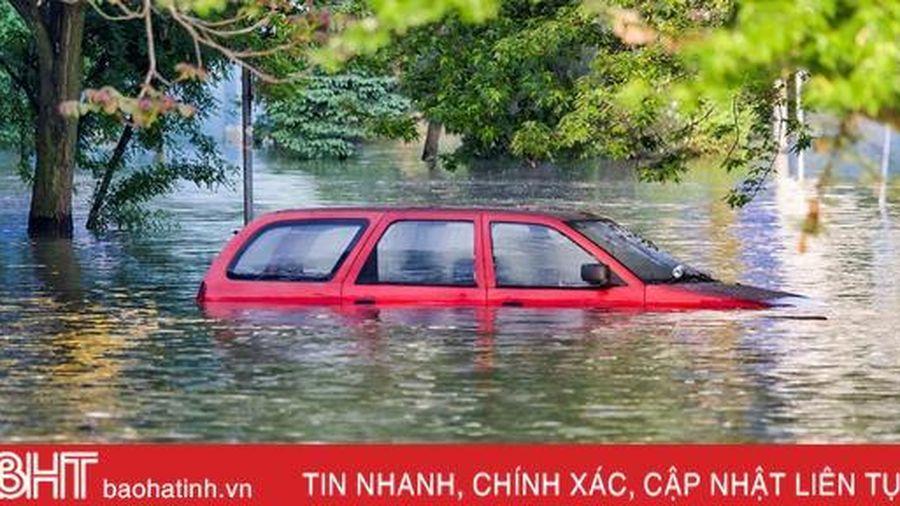 Bí quyết xử lý nhanh khi ôtô bị ngập nước