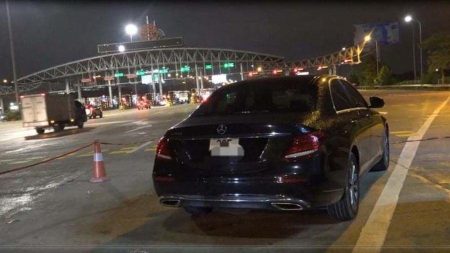 Phóng 'bạt mạng' trên cao tốc, tài xế bị phạt 11 triệu đồng