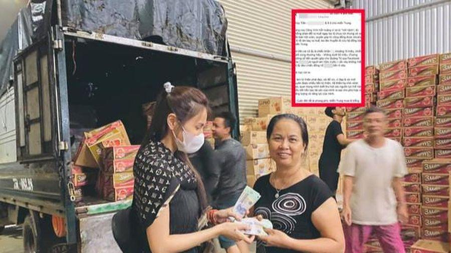 Mỉa mai trang phục đi từ thiện của Thủy Tiên, nữ MC nhận 'gạch đá' từ dân mạng