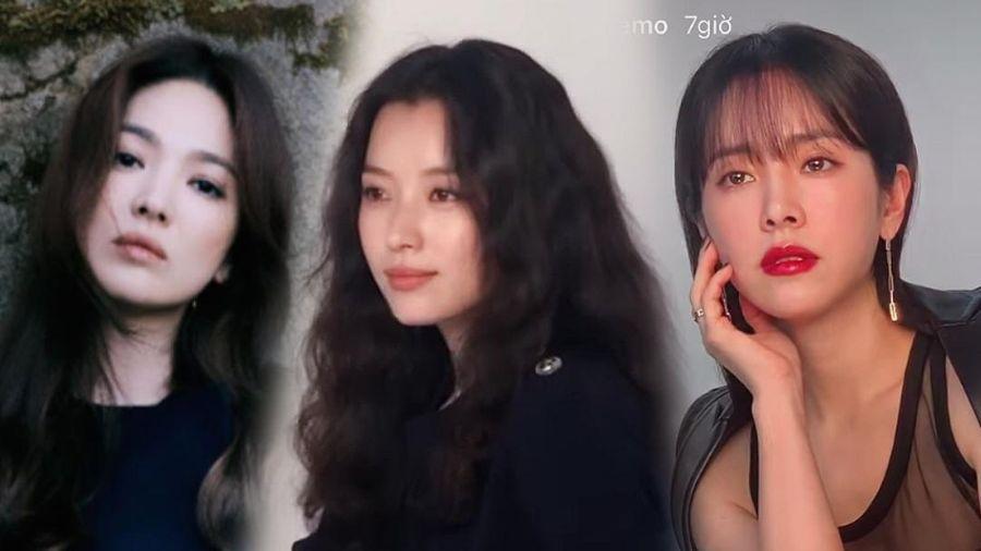 Han Hyo Joo 'lột xác' thành Song Hye Kyo, Han Ji Min gợi cảm: 3 chị đại đẹp áp đảo dàn idol!