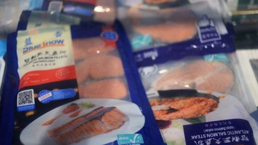 Trung Quốc: Virus SARS-CoV-2 trên bao bì thực phẩm đông lạnh có thể lây sang người