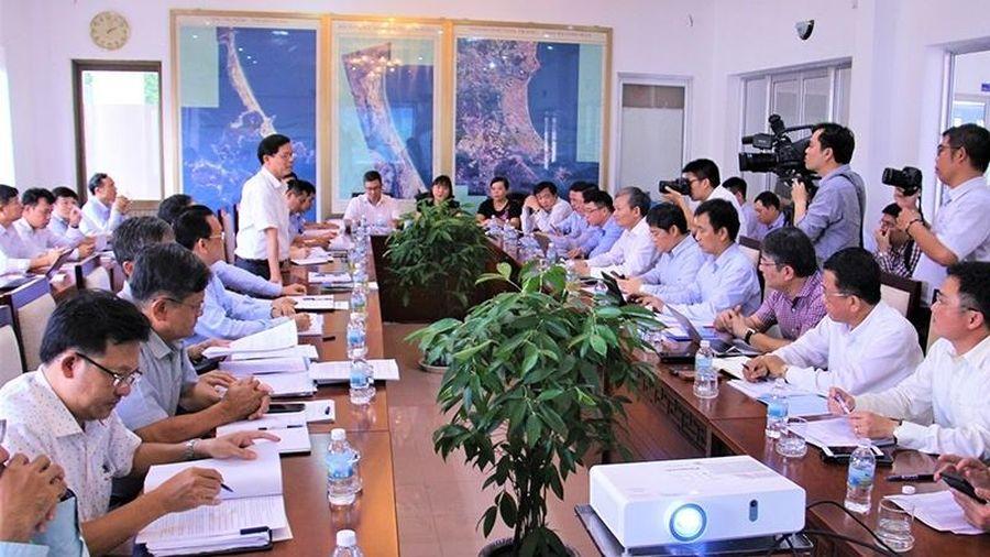 Đoàn công tác EVN làm việc với tỉnh Khánh Hòa về hạ tầng lưới điện