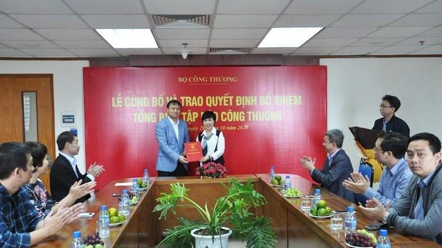 Lãnh đạo Bộ Công Thương trao quyết định bổ nhiệm Tổng Biên tập Báo Công Thương