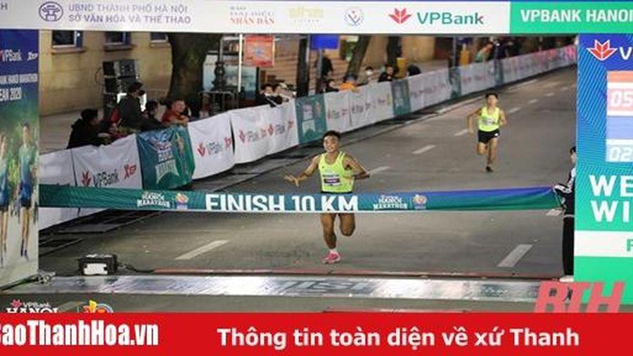 Lê Trung Đức giành HCV tại Giải chạy VPBank Marathon ASEAN 2020