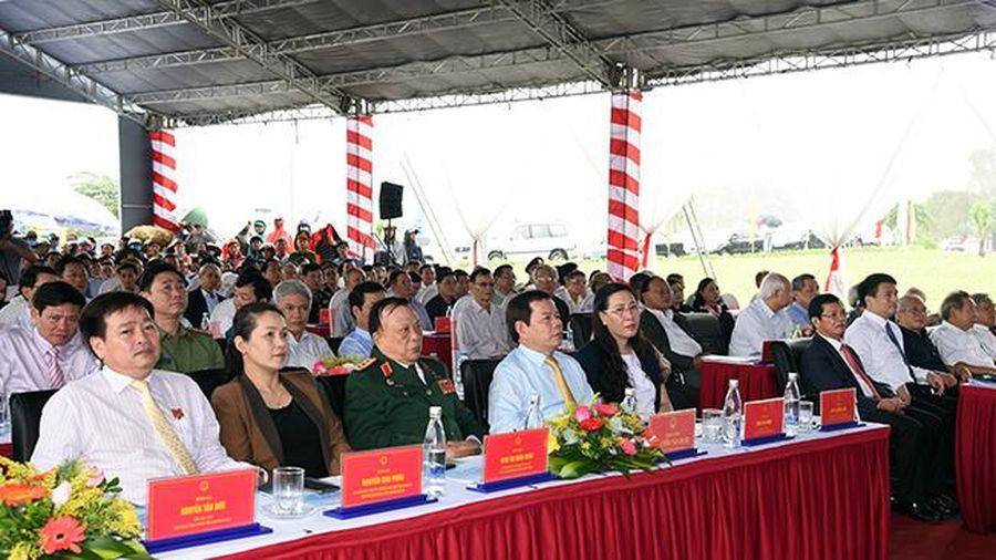 Quảng Ngãi: Thông xe kỹ thuật cầu Cổ Lũy- công trình chào mừng Đại hội đại biểu Đảng bộ tỉnh lần thứ XX