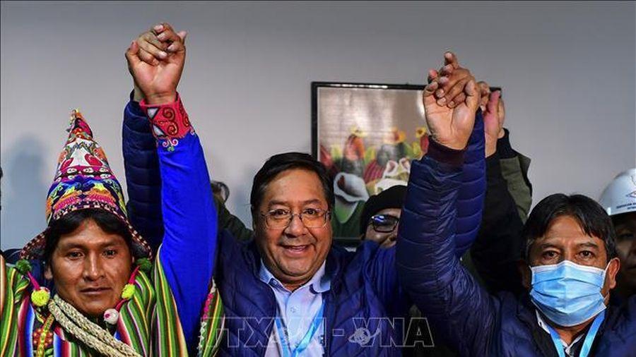 Ứng viên cánh tả trở thành Tổng thống Bolivia