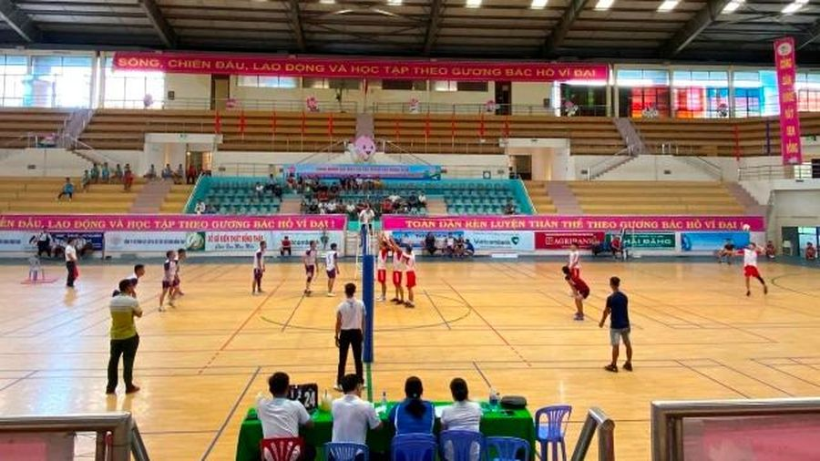 Khai mạc Giải bóng chuyền vô địch tỉnh Đồng Tháp năm 2020