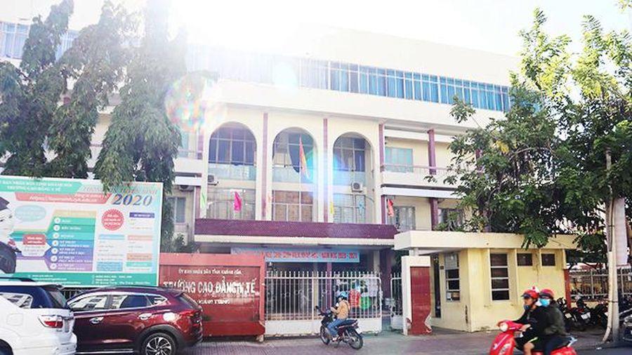 Khẩn trương di dời và tiếp nhận Trường Cao đẳng Y tế Khánh Hòa tại cơ sở mới