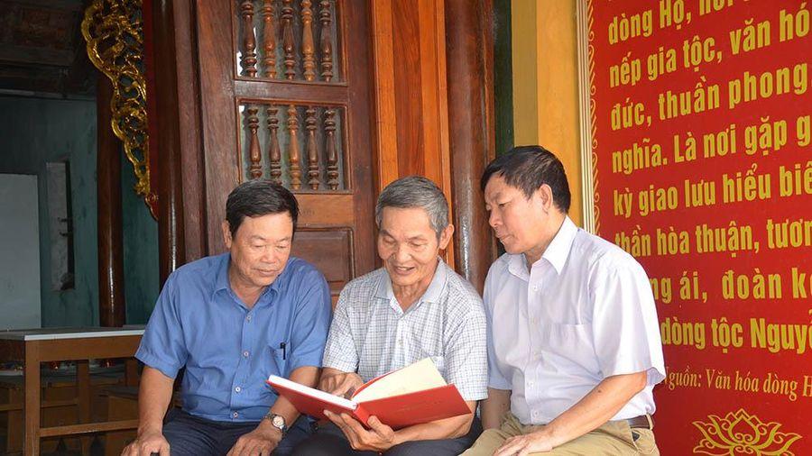 Dòng họ hiếu học, gia đình hiếu học: Điển hình ở Quảng Yên