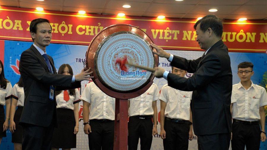 Trường ĐH Công nghiệp TP. HCM khai giảng năm học mới