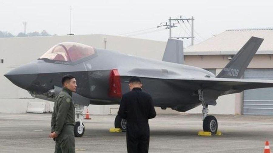 Hàn Quốc thông báo đã nhận 24 máy bay chiến đấu tàng hình F-35A từ Mỹ