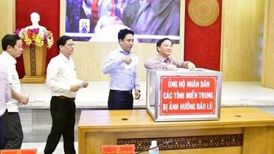Khánh Hòa, Bình Định phát động ủng hộ các tỉnh vùng lũ miền Trung