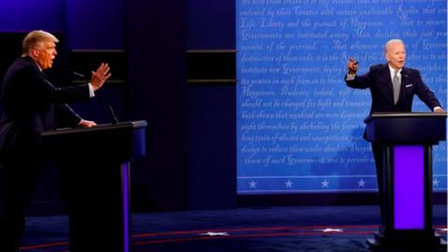 Buổi tranh luận cuối cùng của Trump - Biden sẽ có 'nút tắt tiếng'