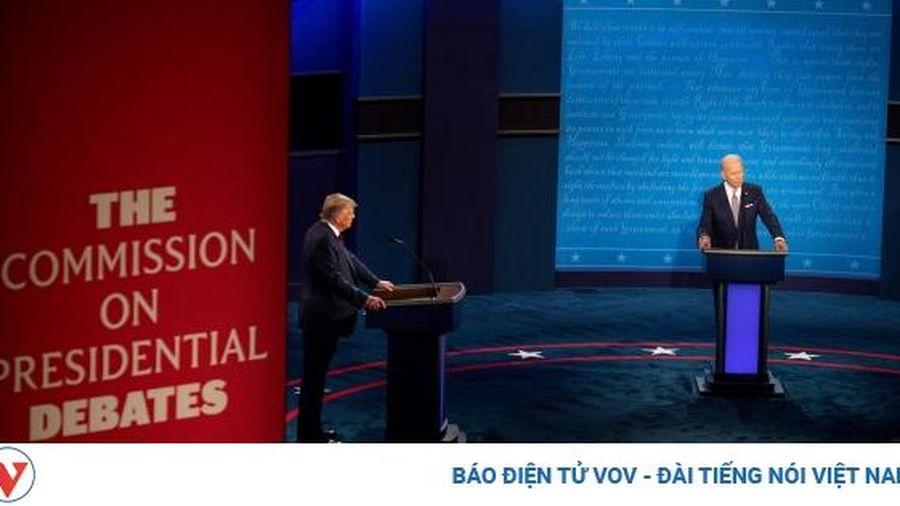 Tranh luận Trump-Biden: Tắt micro khi đối thủ tranh luận