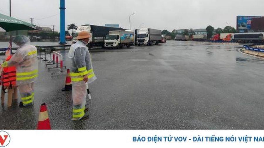 Tạm thời thông xe các tuyến chính trên Quốc lộ 1A qua Hà Tĩnh