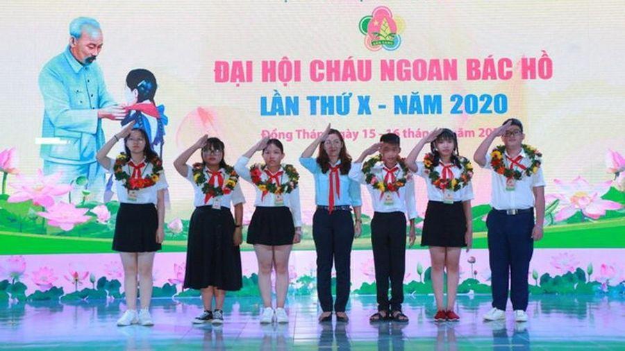 344 đội viên, thiếu nhi xuất sắc dự Đại hội Cháu ngoan Bác Hồ toàn quốc 2020