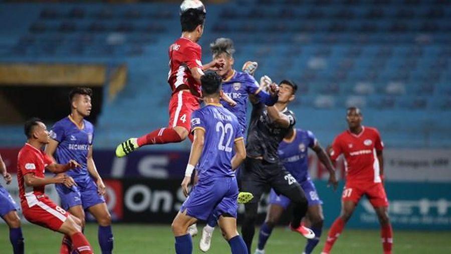 Thắng B.Bình Dương, Viettel giữ ngôi đầu V.League 2020