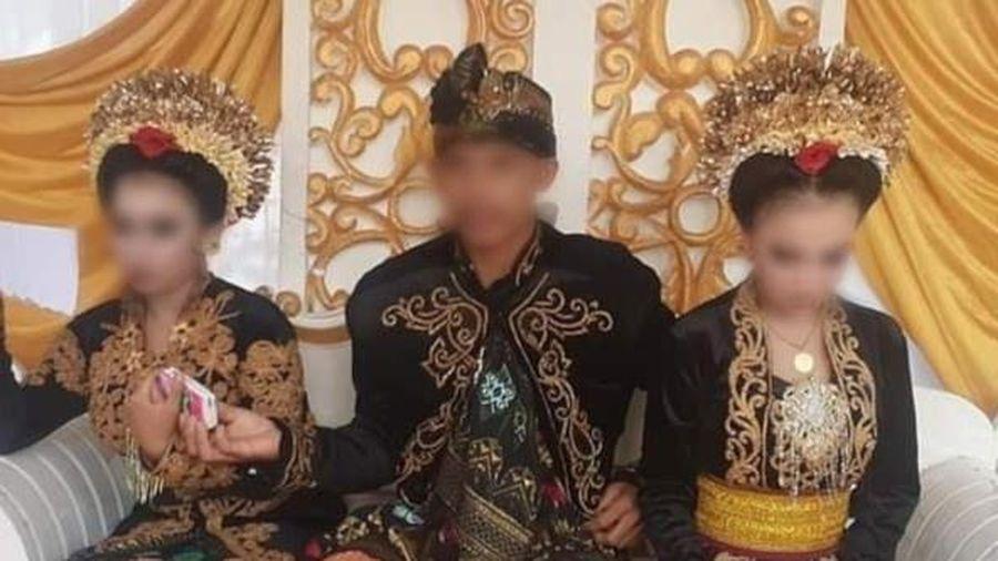 Chàng trai Indonesia cưới 2 thiếu nữ trong vòng một tháng