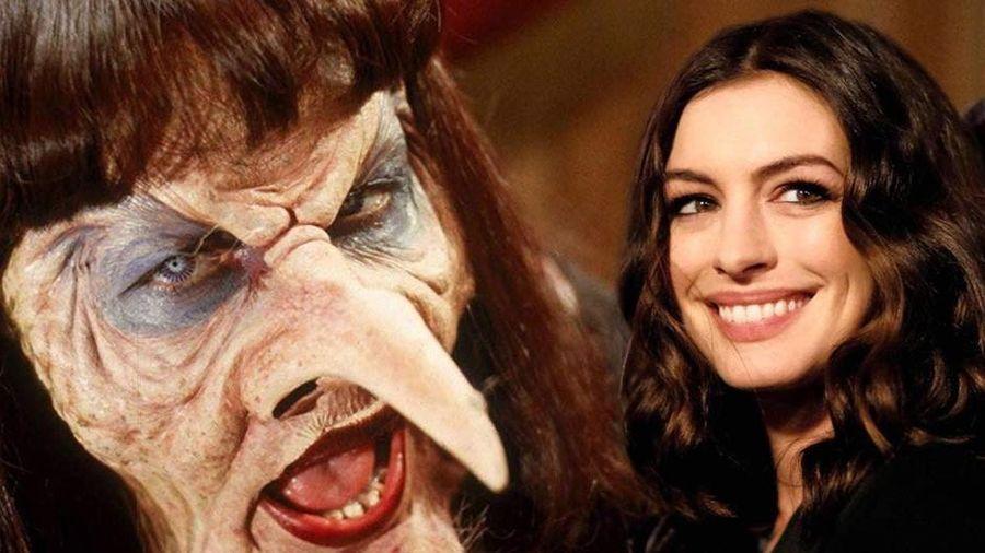 Hậu trường hóa trang thành phù thủy của Anne Hathaway