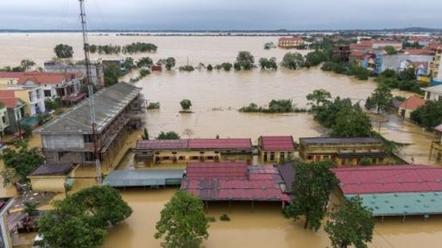 Bão lụt miền Trung và những ký ức không thể nào quên