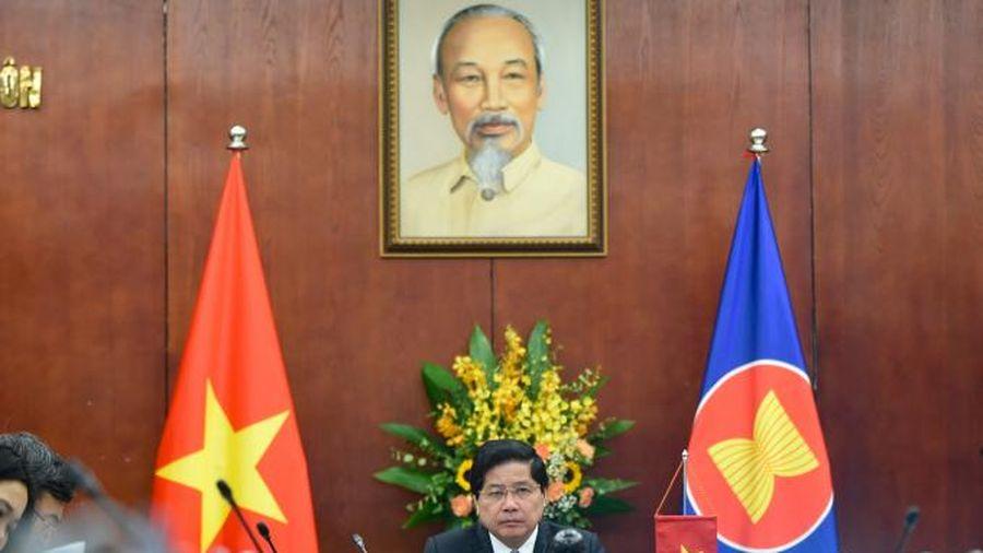 Hội nghị trực tuyến Bộ trưởng Nông lâm nghiệp ASEAN – AMAF 42
