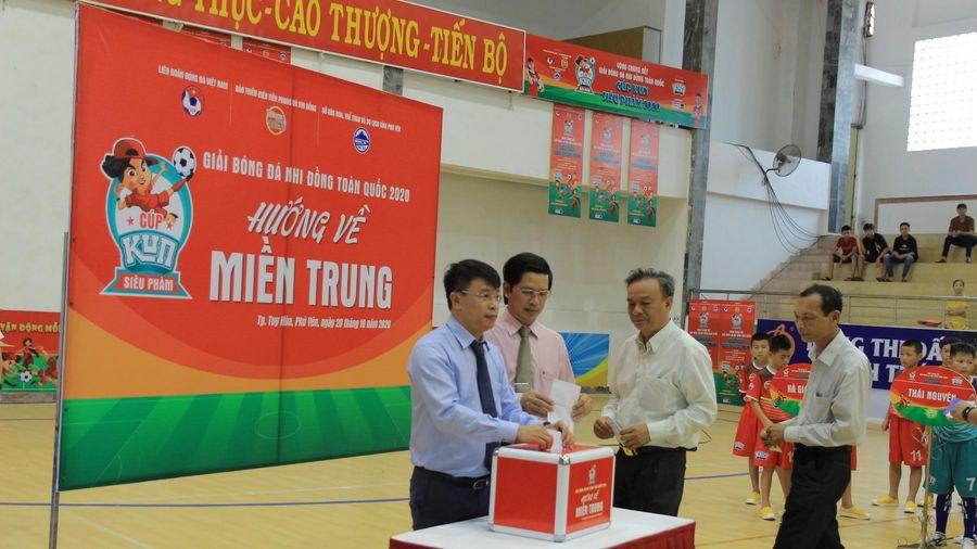 Giải Bóng đá Nhi đồng toàn quốc hướng tới miền Trung