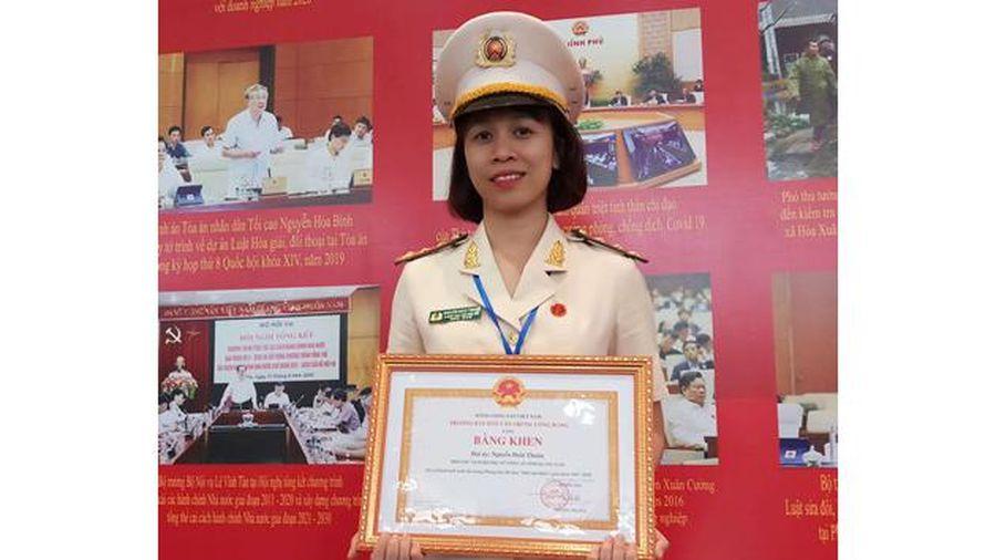 Phó Chủ tịch Hội Phụ nữ Công an 'dân vận khéo'