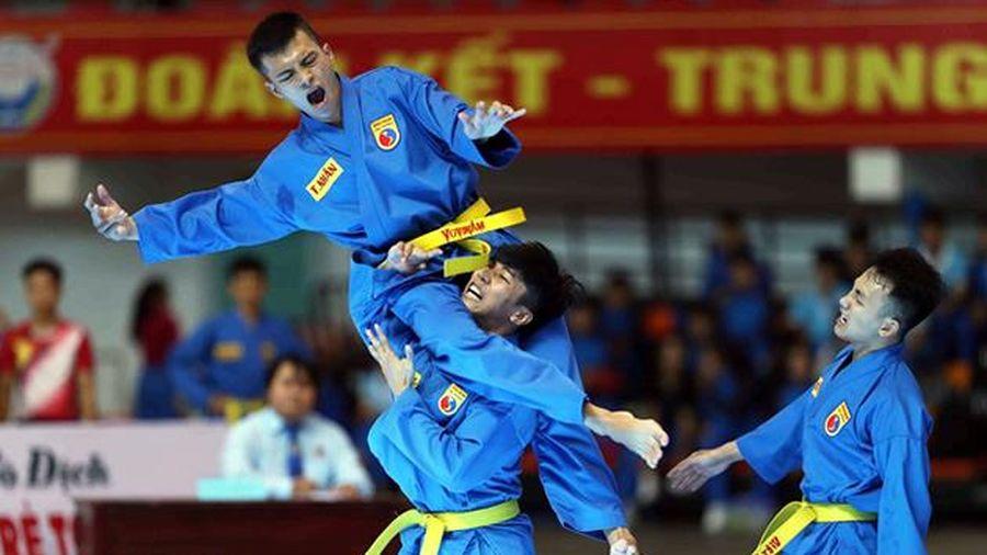 Khai mạc Giải vô địch Vovinam trẻ toàn quốc