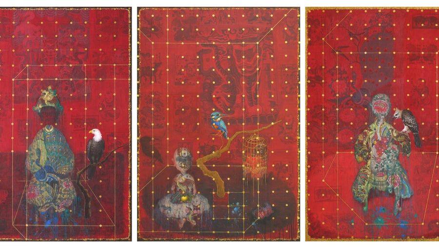 'Màu dân tộc' trong những tác phẩm đương đại của họa sĩ Bùi Thanh Tâm