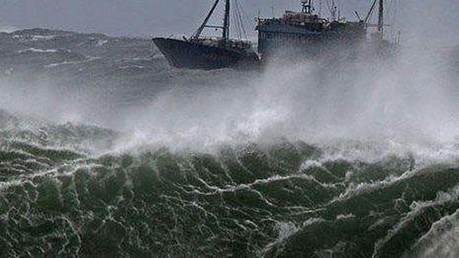 Dự báo thời tiết biển ngày và đêm nay (21/10): Bắc Biển Đông có mưa bão và gió giật rất mạnh