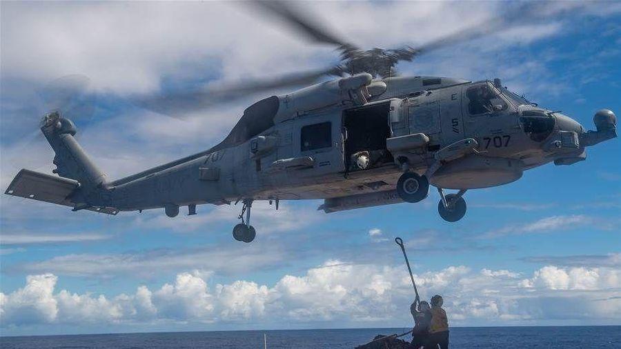 Mỹ-Nhật Bản-Australia 'rủ nhau' tập trận ở Biển Đông