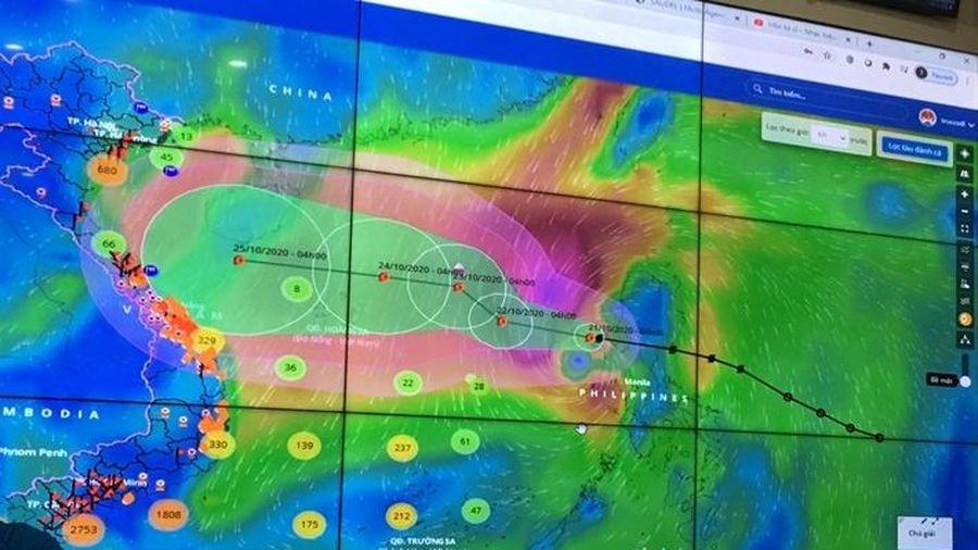 Hơn 52.000 tàu thuyền đã được thông báo về hướng di chuyển của bão số 8