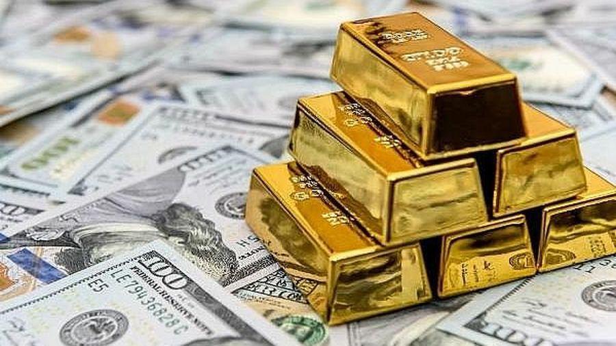 Giá vàng tăng mạnh sau khi đồng USD suy yếu