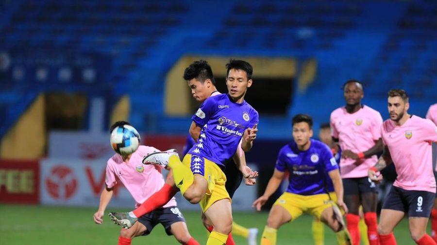 CLB Hà Nội bứt tốc trong cuộc đua vô địch