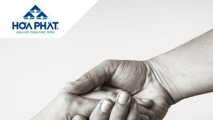 Tập đoàn Hòa Phát ủng hộ 4 tỷ đồng cho Quảng Bình, Quảng Trị