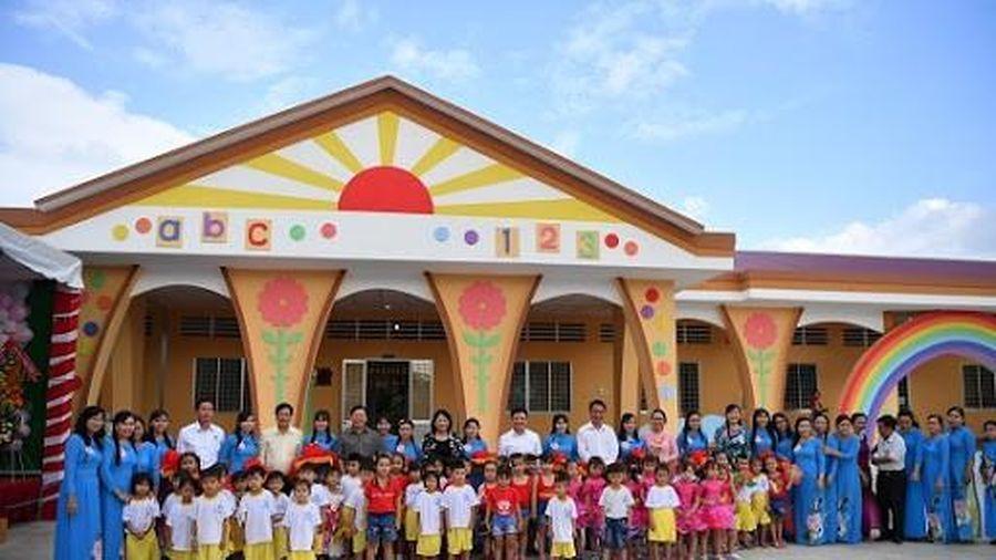 10 năm phổ cập GDMN cho trẻ năm tuổi: Bao nhiêu trường được xây mới?