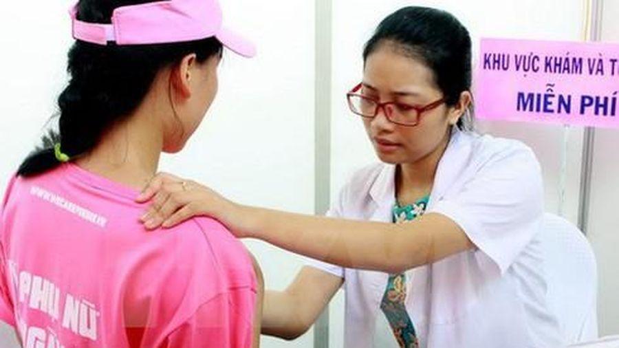 Bệnh viện Chợ Rẫy tầm soát ung thư vú miễn phí cho 1.000 người