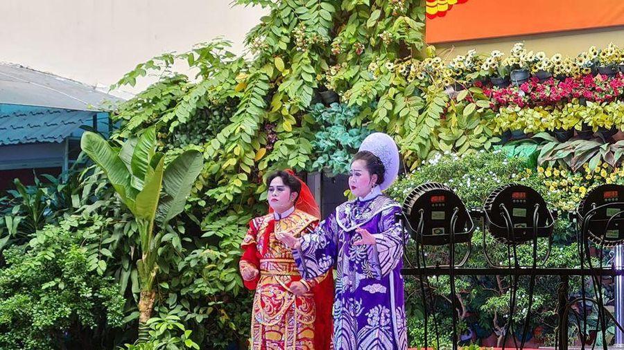 Gần 2.700 học sinh trường tiểu học Lương Định Của được tìm hiểu về hát bội